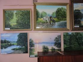 Выставка картин Сладкова А.Ф.