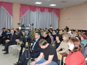 15 февраля 2018 года в актовом зале СОШ с. Алкино-2 было проведено собрание «День сельсовета».