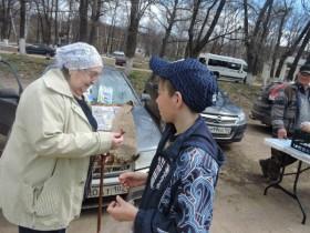 Акция «Георгиевская ленточка» в СП Лесной сельсовет