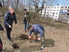 27 апреля 2019 года  на территории с. Алкино-2 проводилась акция «Посади дерево-подари жизнь».