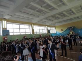 На территории СОШ им. Р. Абзалова с. Алкино-2  прозвенел последний звонок для учащихся 9-11 классов.